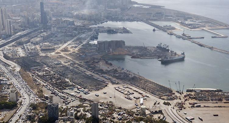 Les experts suisses dépêchés au Liban ont entamé leur travail