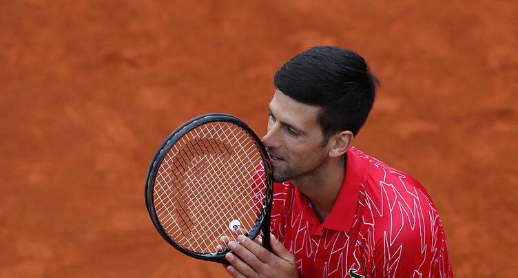 Djokovic va jouer Cincinnati et l'US Open