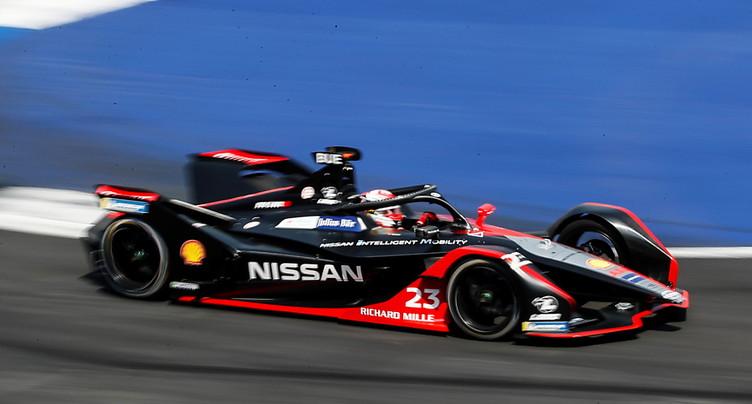 Formule E: Buemi battu par les Mercedes à Berlin