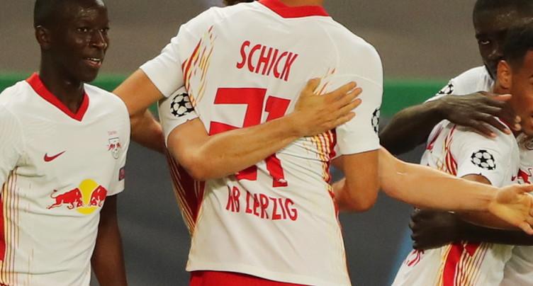Ligue des champions: le RB Leipzig terrasse l'Atlético Madrid