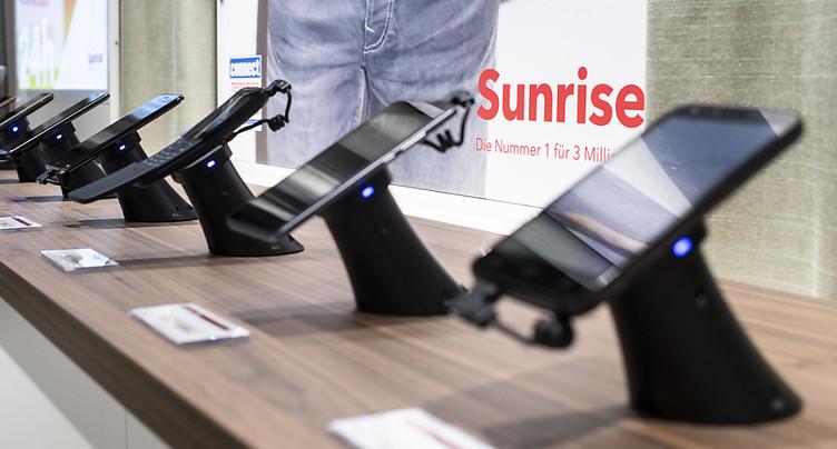Un actionnaire de référence de Sunrise relève sa participation