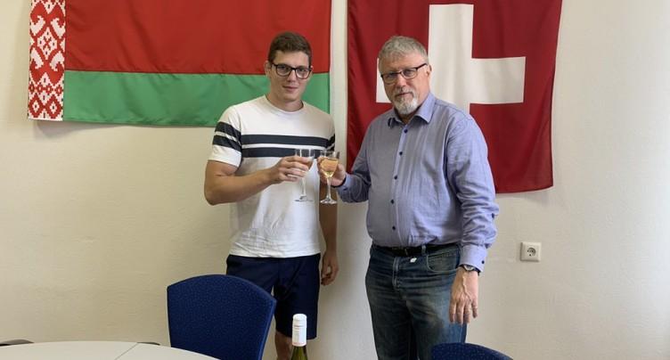 Le jeune lutteur valaisan a été libéré en Biélorussie