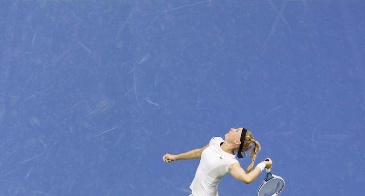 Jil Teichmann attend Serena Williams