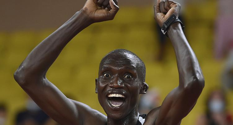 Record du monde du 5000 m pour Cheptegei