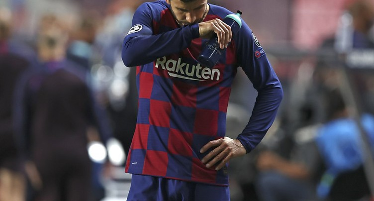 Barcelone « a touché le fond » selon Piqué