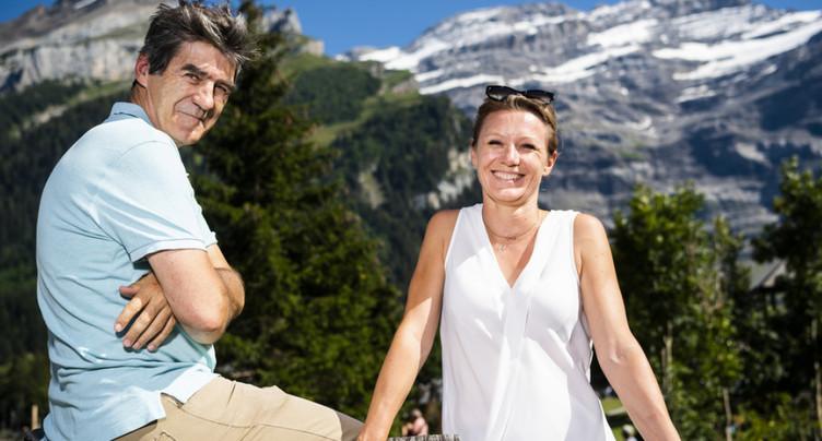 Le public a été en rendez-vous du Festival du film alpin aux Diablerets (VD)