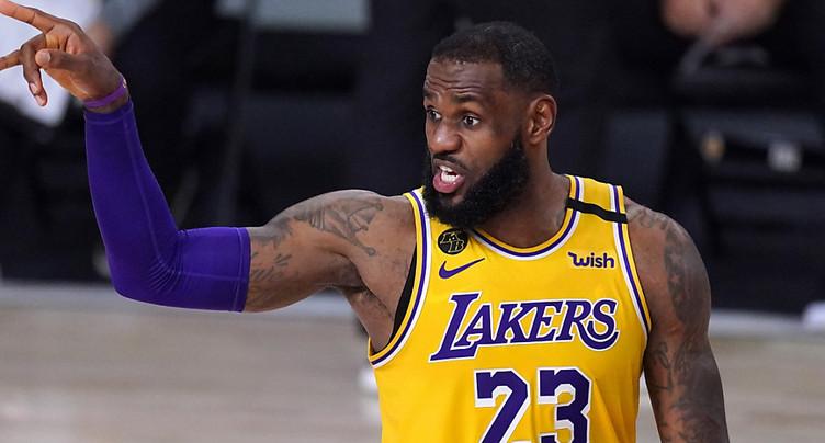 Il ne manque plus qu'une victoire aux Lakers