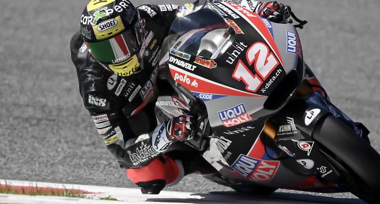 GP de Saint-Marin: Lüthi en quatrième ligne en Moto2