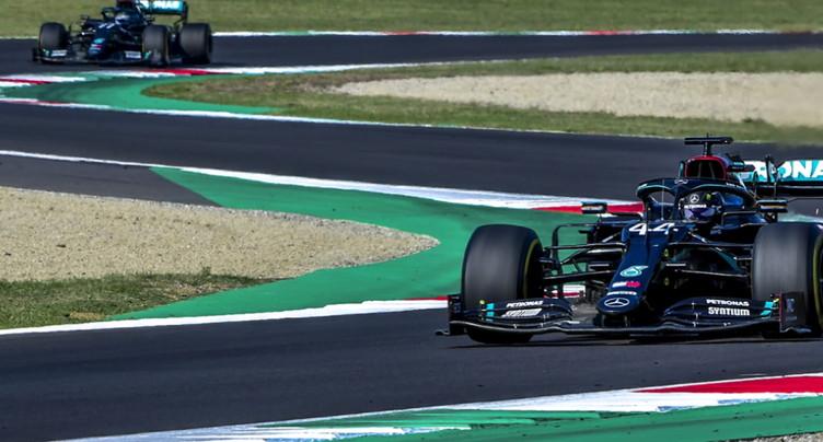 GP de Toscane au Mugello: Hamilton gagne une course mouvementée