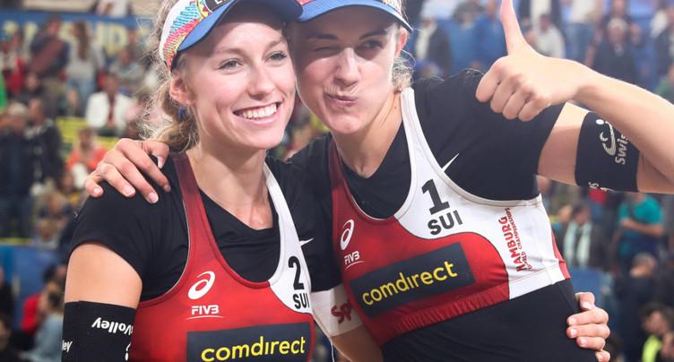 Betschart/Hüberli en huitièmes de finale
