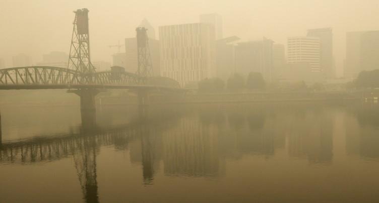 Incendies américains si intenses que leur fumée atteint l'Europe