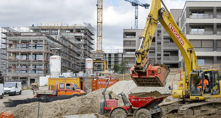 Le secteur de la construction affecté par la pandémie (BAK)