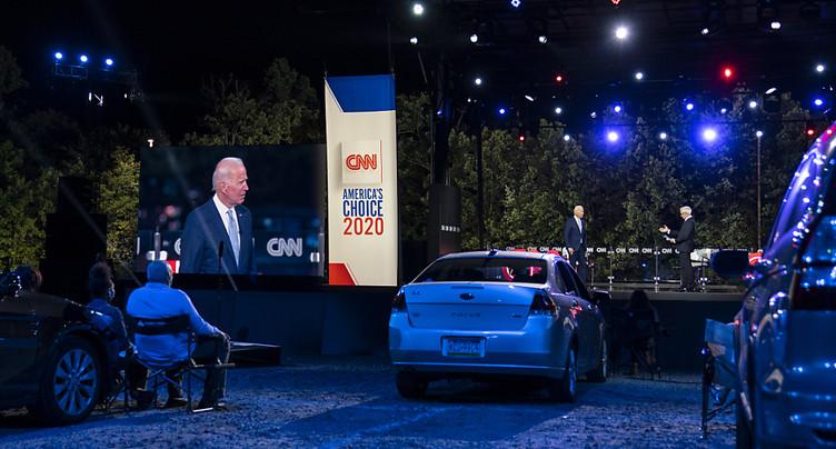 Jouant sur la colère anti-Trump, Joe Biden retrouve les électeurs