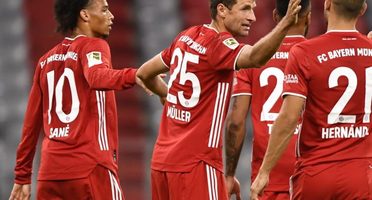 Le Bayern détruit Schalke 8-0 en ouverture de la Bundesliga