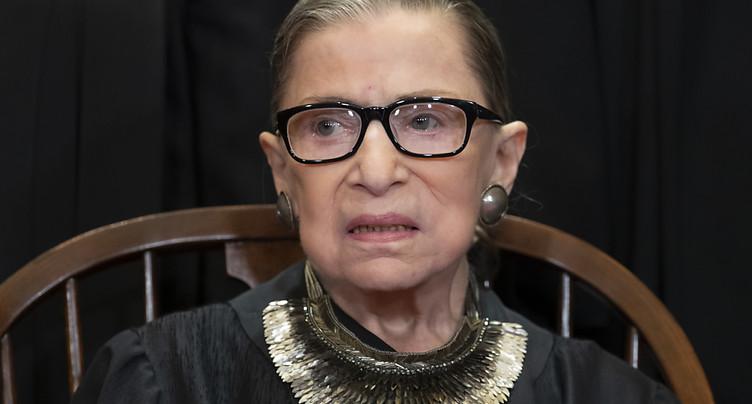 La doyenne de la cour suprême américaine est morte à 87 ans