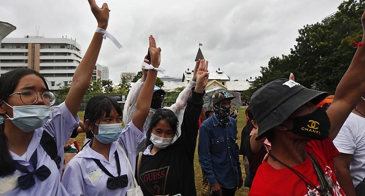 Milliers de manifestants prodémocratie attendus dans Bangkok