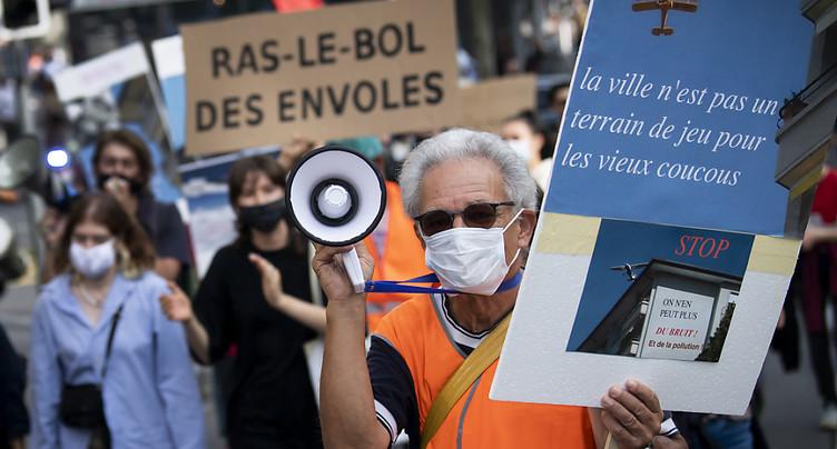 Les riverains veulent la fermeture de l'aéroport de la Blécherette
