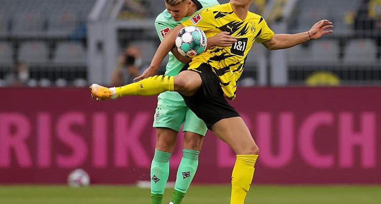 Dortmund bat largement Mönchengladbach