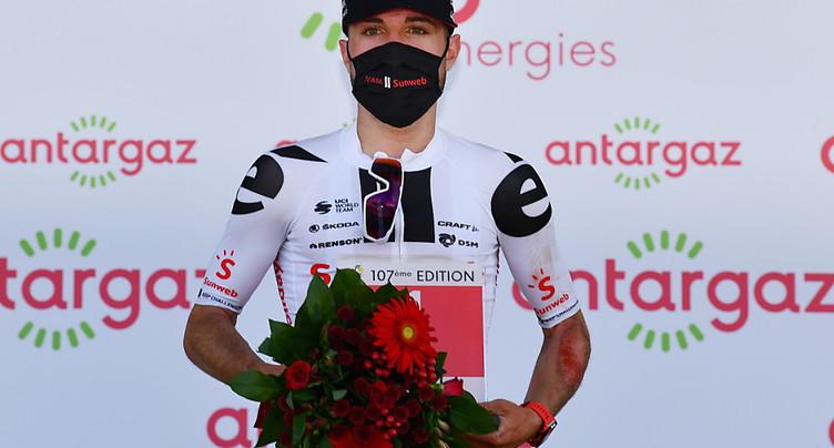 Marc Hirschi désigné super combatif du Tour