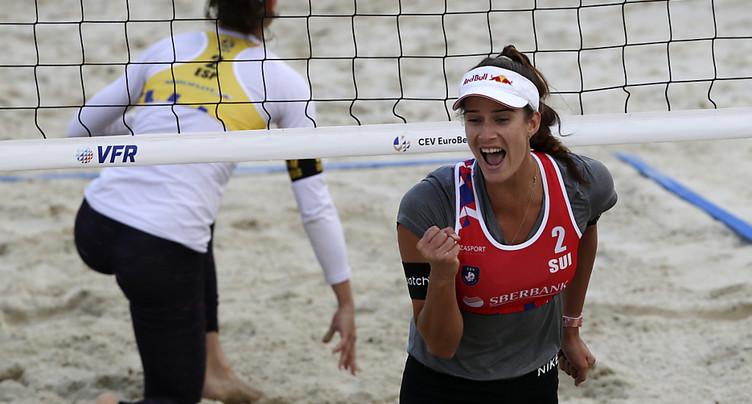 Joana Heidrich et Anouk Vergé-Dépré championnes d'Europe