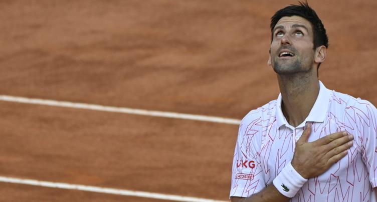 Novak Djokovic en finale à Rome pour la dixième fois