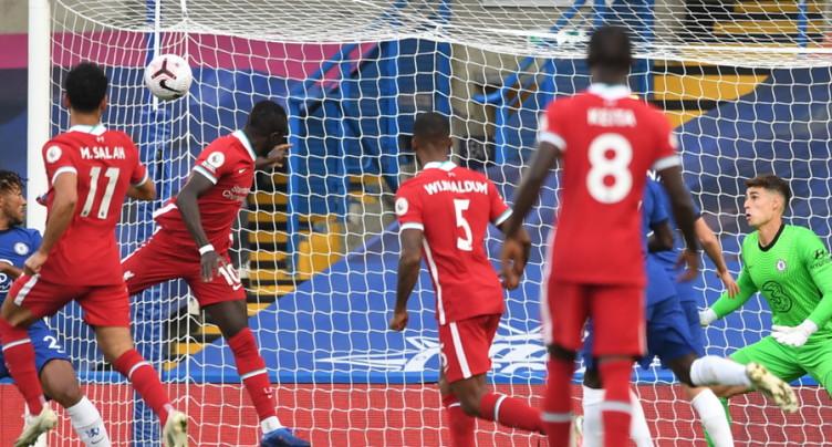 Premier League: Liverpool gagne sur la pelouse de Chelsea