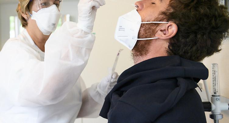 La Suisse recense 286 nouveaux cas de coronavirus en 24 heures