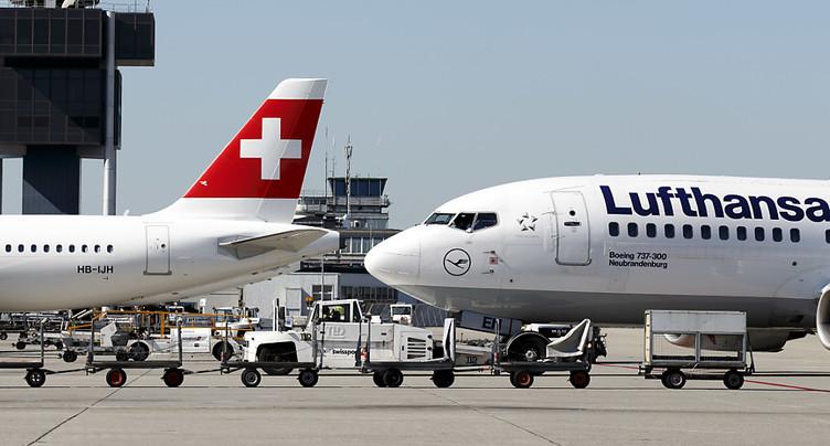 Swiss prévoit toujours de capacités réduites cet hiver
