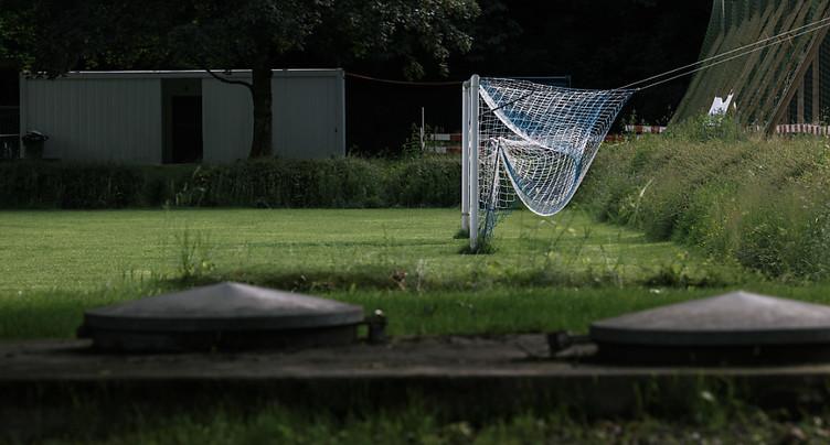 Jeunes footballeurs frappés par la foudre à Abtwil (SG)
