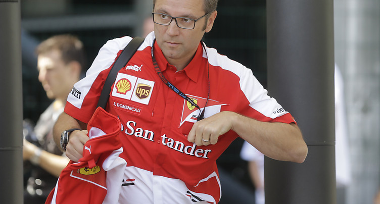 Stefano Domenicali va prendre la tête de la F1