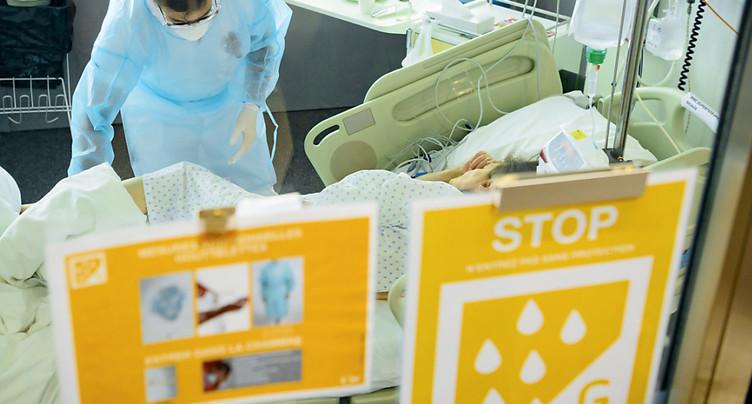 La Suisse recense 437 nouveaux cas de Covid-19 en 24 heures