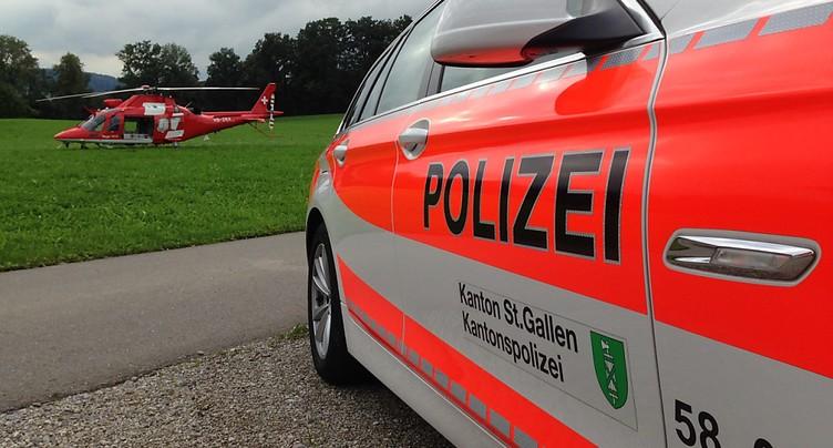 Footballeurs juniors de 15 et 16 ans frappés par la foudre à Abtwil