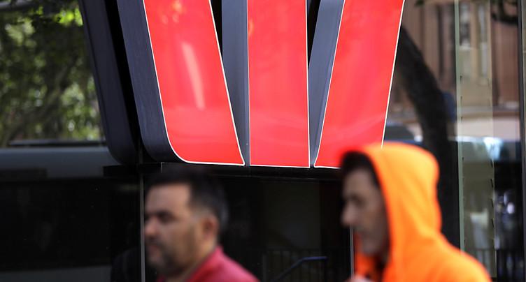 La banque Westpac paiera 923 M USD d'amende pour blanchiment