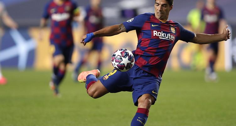 L'Atlético Madrid annonce l'arrivée de Luis Suarez