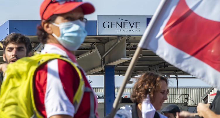 Genève Aéroport: 56 postes en moins l'an prochain