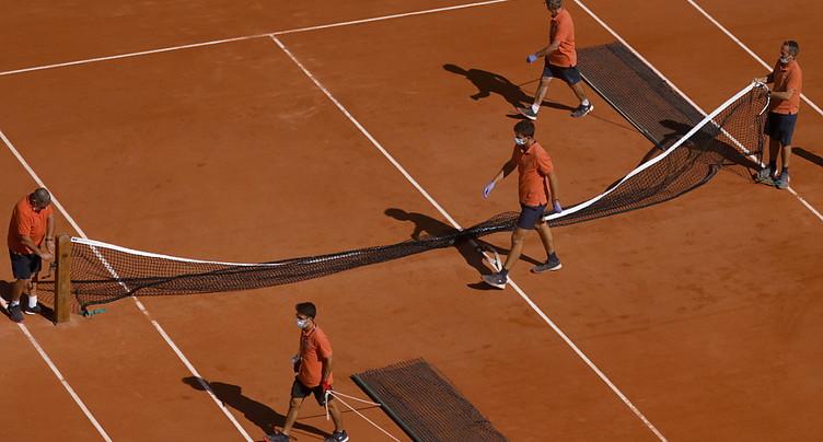 Jauge réduite à 1000 personnes pour Roland-Garros