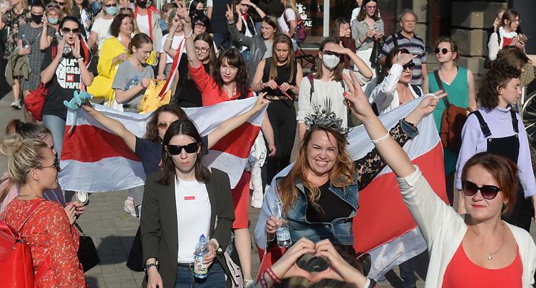 Nombreuses arrestations lors d'une manifestation de femmes