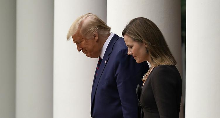 Trump va nommer Amy Coney Barrett à la cour suprême (médias)