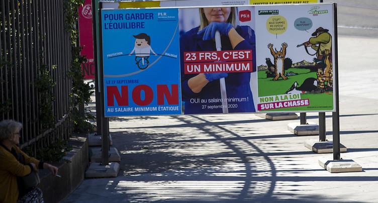 Le salaire minimum de 23 francs de l'heure va s'imposer