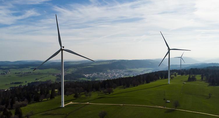 Rejet de justesse du projet de parc éolien à Sonvilier (BE)