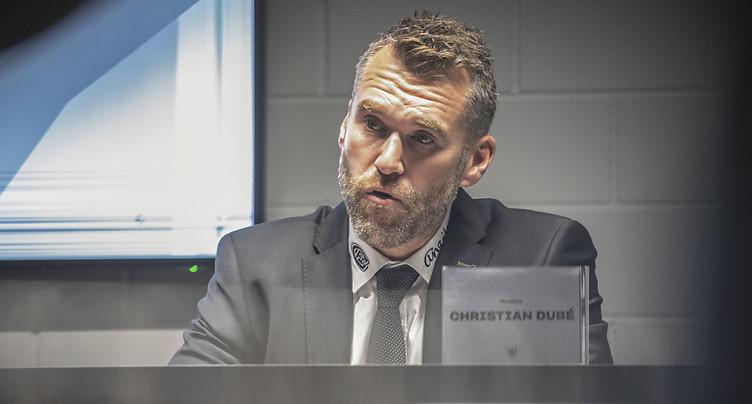 Christian Dubé: «