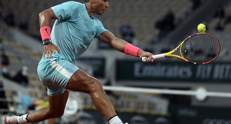Un 94e succès pour Nadal sur la terre battue parisienne