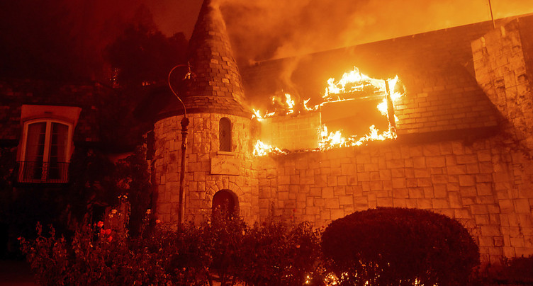 Californie: les vignobles de la Napa Valley dévorés par les flammes