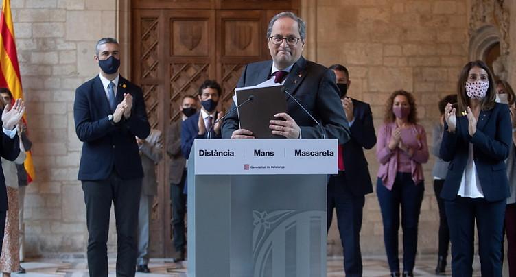 Le président catalan destitué par la justice espagnole