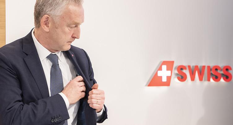 Le patron de Swiss part à la fin de l'année
