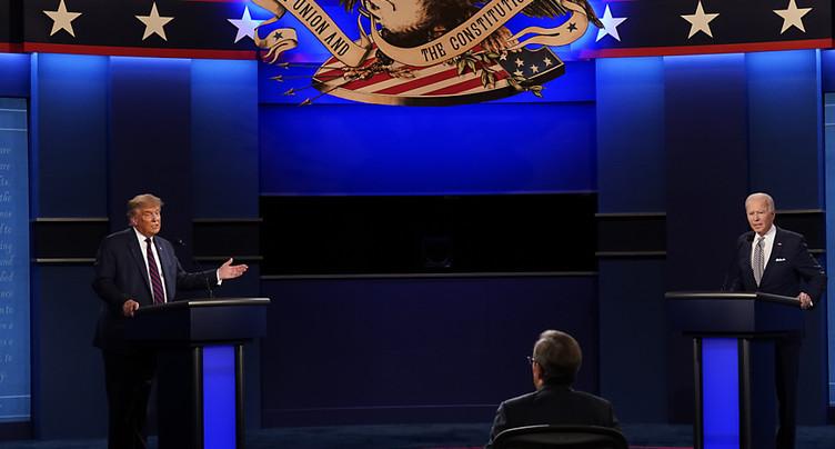 Trump et Biden s'affrontent lors d'un débat crucial