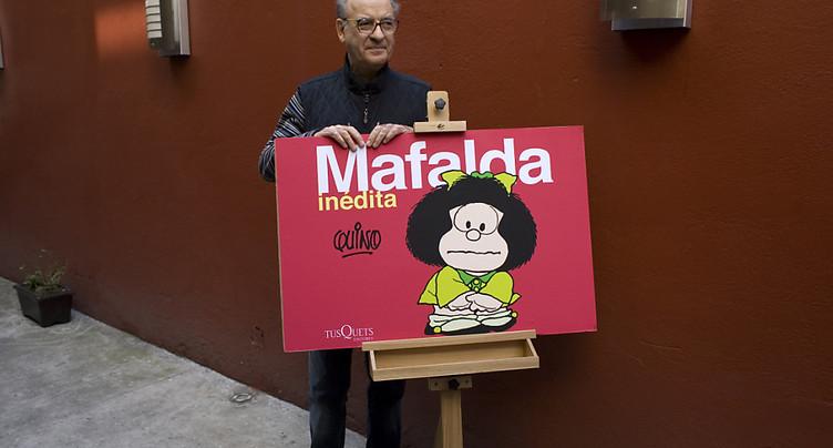 Décès du dessinateur argentin Quino, créateur de Mafalda