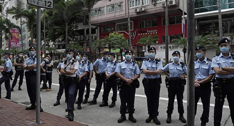 La police se mobilise en vue de la fête nationale chinoise