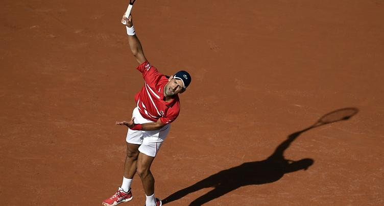 Djokovic lâche cinq jeux au 2e tour