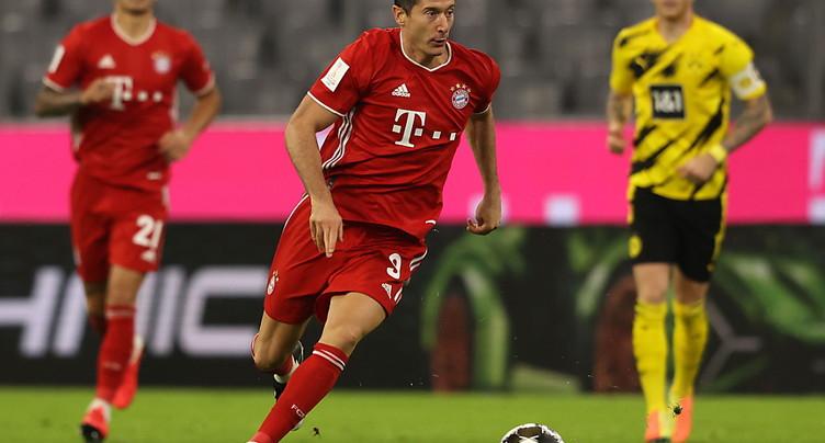 Lewandowski et Harder sacrés meilleurs joueurs UEFA